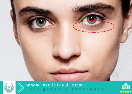 1-Minute Photoshop Remove Dark Circles Naturally ( www.mettirad.com )