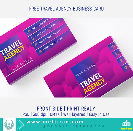 Preview_Free_Travel_Agency_Business_Card ( www.mettirad.com )