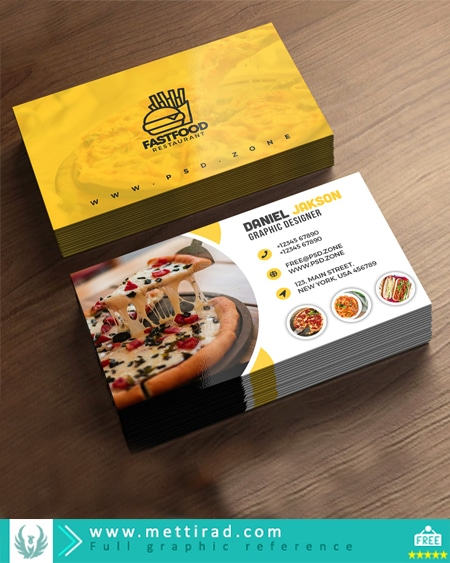 PSD-Fast-Food-Restaurant-Business-Card-Design[www.mettirad.com]